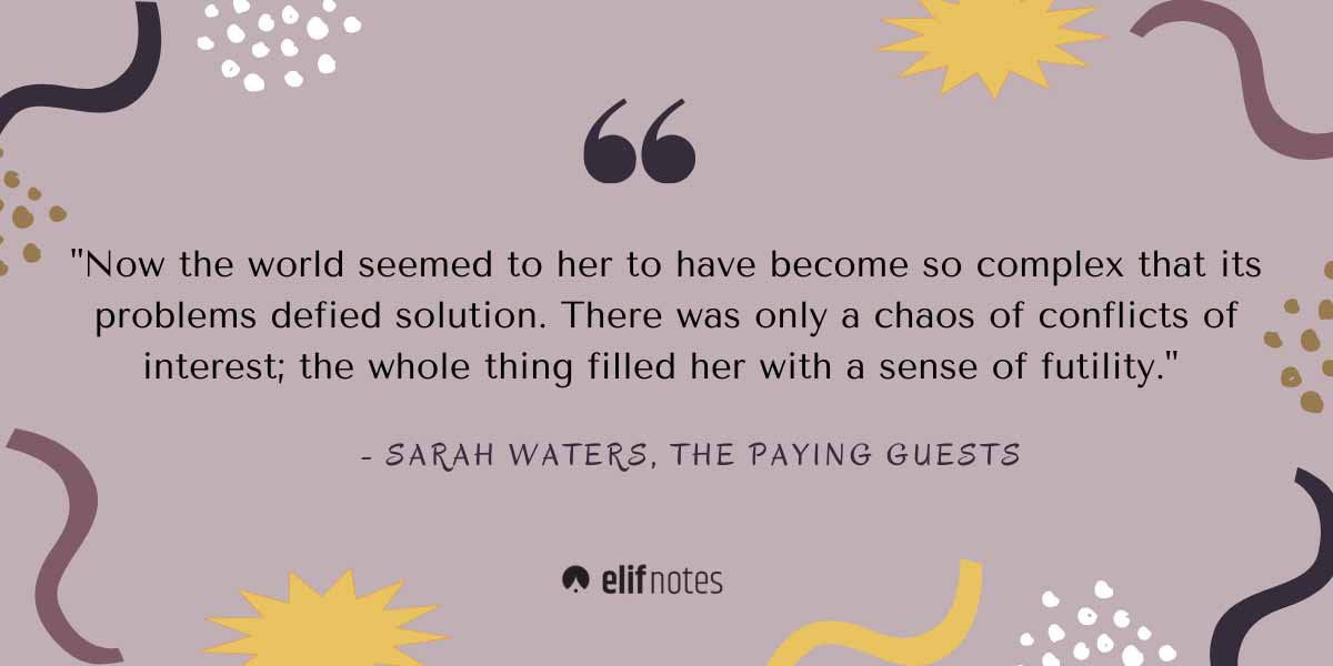 The-paying-guests-by-Sarah-waters-quote